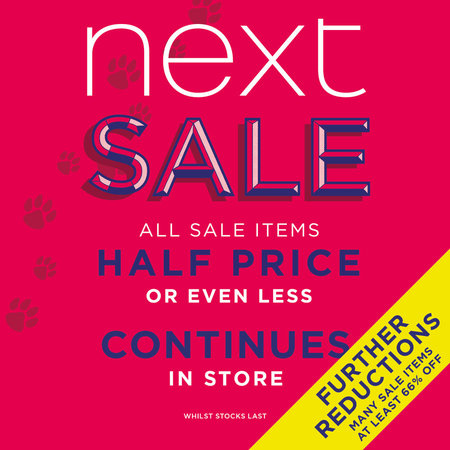 The NEXT Summer Sale Continues!