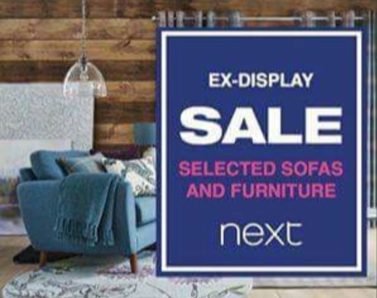 Ex Display Sale At Next Kingsway West Dundee