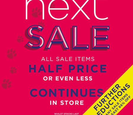 The NEXT Summer Sale 2018 Continues!
