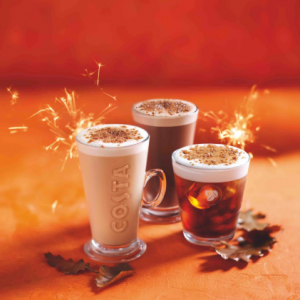 The Bonfire Spiced Trio is Back at Costa!
