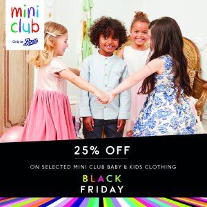 Black Friday at Boots Mini Club!