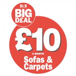ScS £10 A Month Sofas and Carpets!