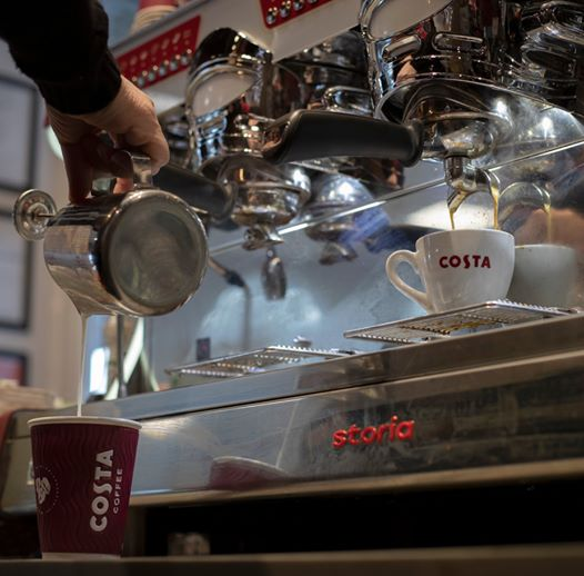 Costa Coffee has Re-Opened!